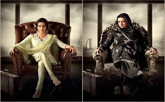 'Haseena: The Queen of Mumbai': Shraddha Kapoor works hard for her look (Img Source: Twitter)