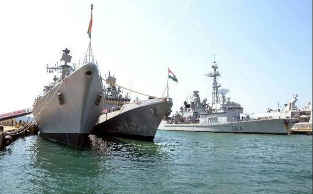 India, France kick off joint naval exercise at Mediterranean Sea (Source-ANI)