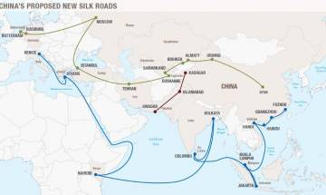 China's silk road: Chinese against stresses on importance of India's participation