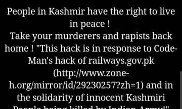 DU, IIT Delhi, AMU among 10 official websites hacked, pro-Pakistani messages displayed