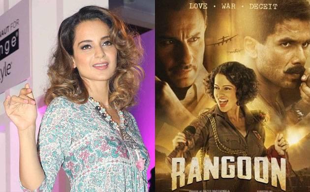 Kangana Ranaut on 'Rangoon' failure: It was targeted at me