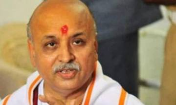 VHP leader Pravin Togadia pitches for 'carpet bombing' of Valley to stop militants