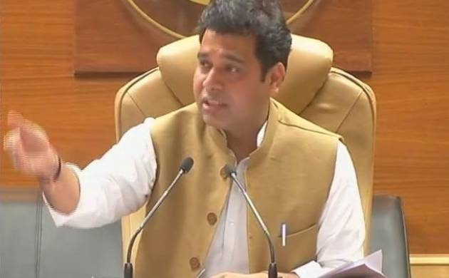 Uttar Pradesh minister Shrikant Sharma (ANI Image)