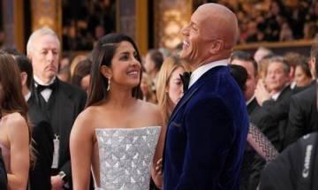 'Baywatch' star Dwayne Johnson awe-struck by Priyanka Chopra! Watch video