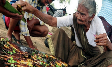 Check Out 106-year-old Mastanamma winning hearts through her cooking skills