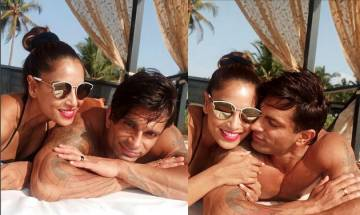 Bipasha Basu-Karan Singh Grover celebrates first wedding anniversary in their 'favourite place' (see pics)
