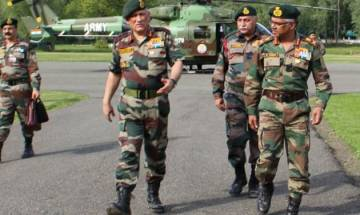 General Bipin Rawat visits Kashmir; takes stock of security measures in valley
