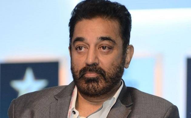 Kamal Hassan unveiled the first look poster of his much await film 'Vishwaroopam 2' (Source: PTI)