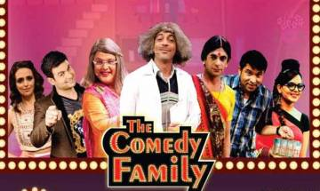 Sunil Grover: Missing Gutthi from 'TKSS' RENUITES with Ali, Chandan and Sugandha for 'The Comedy Family'