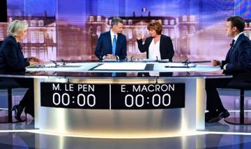 French Presidential elections 2017:  Candidates Le Pen, Macron exchange blows in ill-tempered televised debate | Top quotes