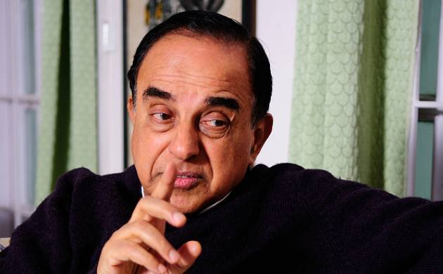 A file photo of BJP leader Subramanian Swamy.