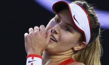 Madrid Open: Eugenie Bouchard upsets Maria Sharapova 7-5, 2-6, 6-4 to sail into second round