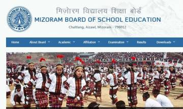 Mizoram MBSE HSSLC class 12 Result 2017 announced at mbse.edu.in; check your result score card here