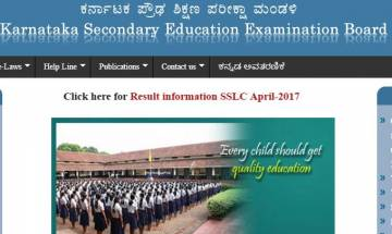 KSEEB SSLC Class 10th Results 2017 announced by Karnataka Board of Secondary education at karresults.nic.in