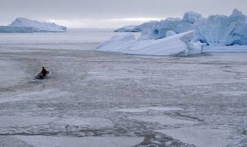 Upsurge in surface of Arctic glacier detected by researchers