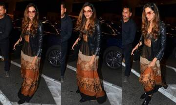 Deepika Padukone leaves for Cannes Festival 2017, drools people over her gorgeous 'Airport' look (see pic)