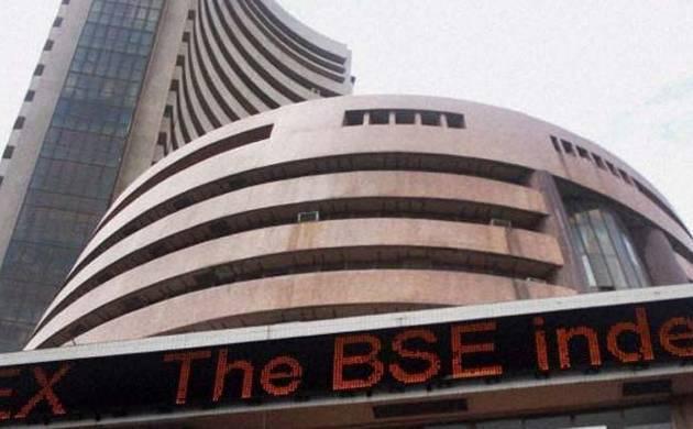 Sensex reahces record high of 30,503