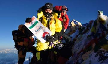 Anshu Jamsenpa becomes first Indian woman to scale Mount Everest 4 times
