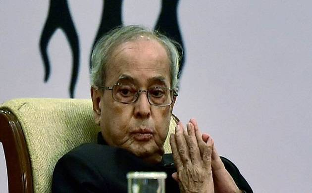 A file photo of President Pranab Mukherjee.