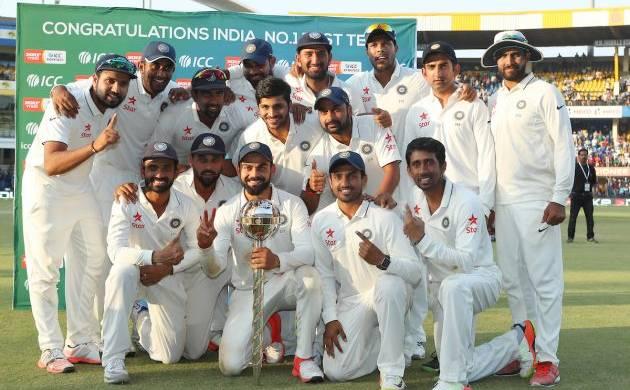 Indian Test Team - File Photo