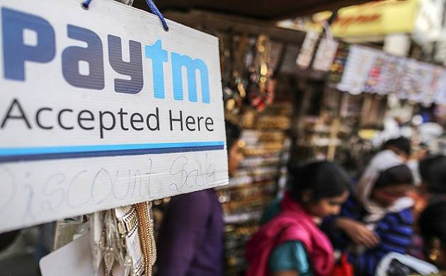 A Paytm logo is displayed at a general store. (File Photo)