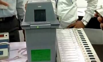 Election Commission gives live demos of EVMs, VVPATs machines; expected to announce schedule of 'EVM Challenge'