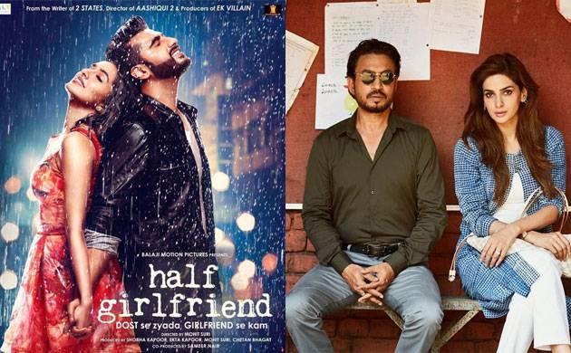 Half Girlfriend vs Hindi Medium day 2: Arjun Kapoor beats Irrfan Khan