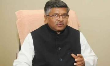Ravi Shankar accuses Sonia Gandhi, Mamata Banerjee of doing vote bank politics on triple talaq