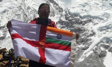 Indian Navy mountaineers' team conquer Mount Everest