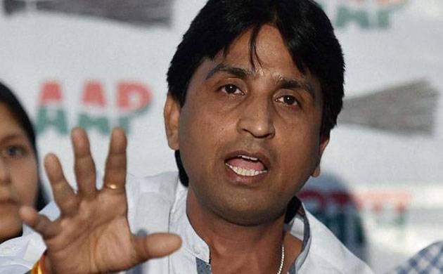 A file photo of AAP leader Kumar Vishwas.