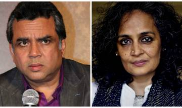 Actor and BJP MP Paresh Rawal wants to 'Tie Arundhati Roy to army jeep instead of stone-pelter', his tweet sparks storm on Twitter