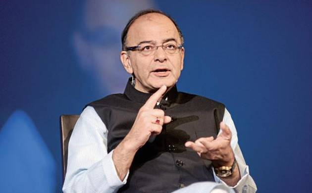 A file photo to Union Defence Minister Arun Jaitley
