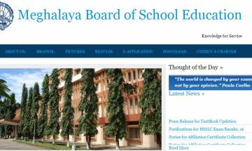 MBOSE SSLC class 10th and class 12th Arts result 2017: Meghalaya board to announce result soon