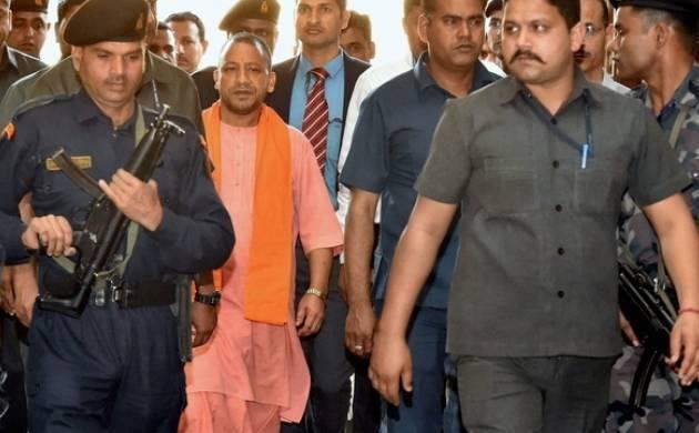 A file photo of Uttar Pradesh's chief minister Yogi Adityanath.