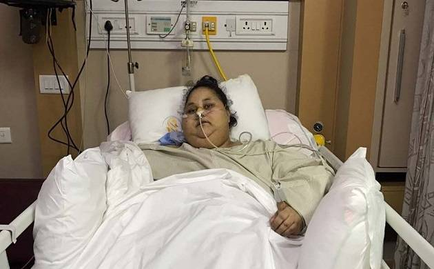 Eman Ahmed makes recovery; starts eating with mouth