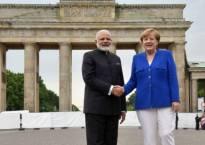 Prime Minister Narendra Modi backs Chancellor Merkel's EU leadership as US President Trump scolds Germany