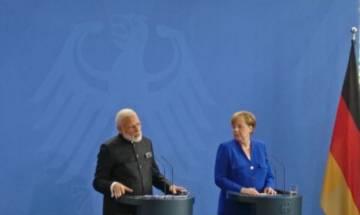 PM Modi meets Merkel; Germany extended 1.4 billion euros for development cooperation assurance, 12 MoUs signed