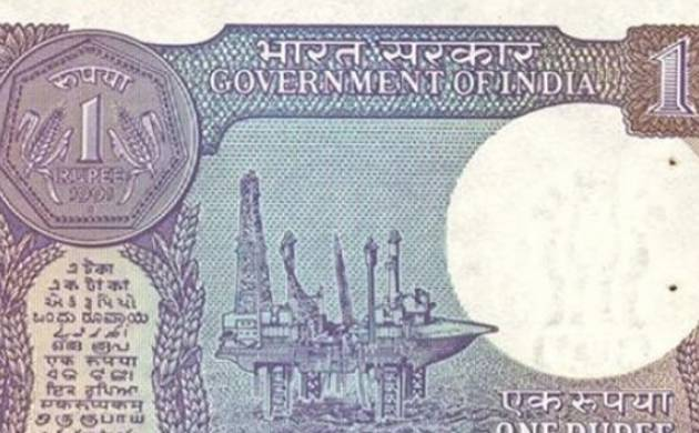 Rupee One denomination currency Note