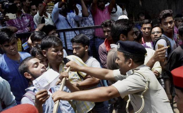 Students raged after announcement of class 12 exam results in Bihar
