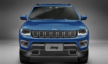 Fiat Chrysler unveils first Made-in-India Jeep Compass SUV