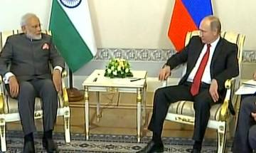 PM in Russia: Modi-Putin hold talks on wide-ranging issues, deal on Kudankulam units likely to be signed