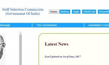 SSC CHSL Tier I Results 2017 declared at ssc.nic.in: Check your score card here
