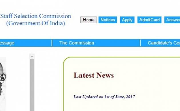 SSC CHSL Tier I Results 2017 declared at ssc nic in: Check your