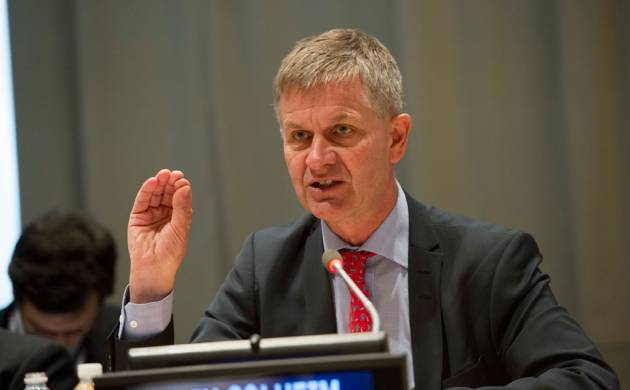 UNEP Executive Director Erik Solheim (File Photo)
