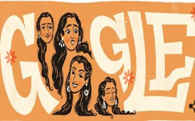 Google makes doodle to pay homage to yesteryear Bollywood diva Nutan on her 81st birth anniversary