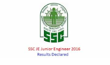 SSC JE Junior Engineer 2016: Tier 1 results declared, click here to check