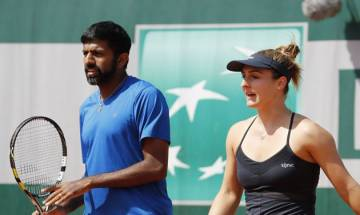 French Open 2017: Rohan Bopanna- Gabriela Dabrowski beat third seed Andrea Hlavackova and Roger Vasselin in straight sets to enter mixed doubles finals