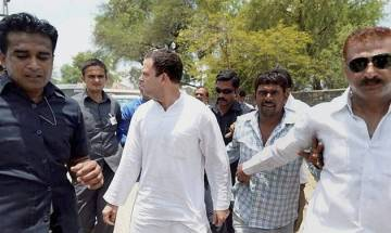 After facing detention, Rahul Gandhi allowed to meet families of farmers killed in Mandsaur