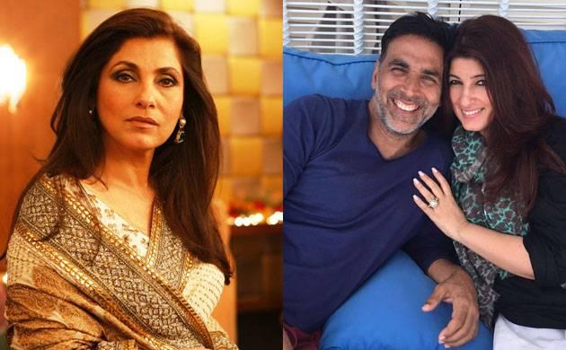 Dimple Kapadia didn't want daughter Twinkle to marry Akshay Kumar