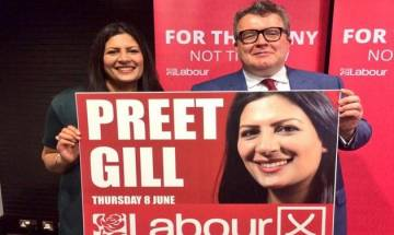 UK election 2017: Labour party's Preet Gill becomes first woman Sikh MP